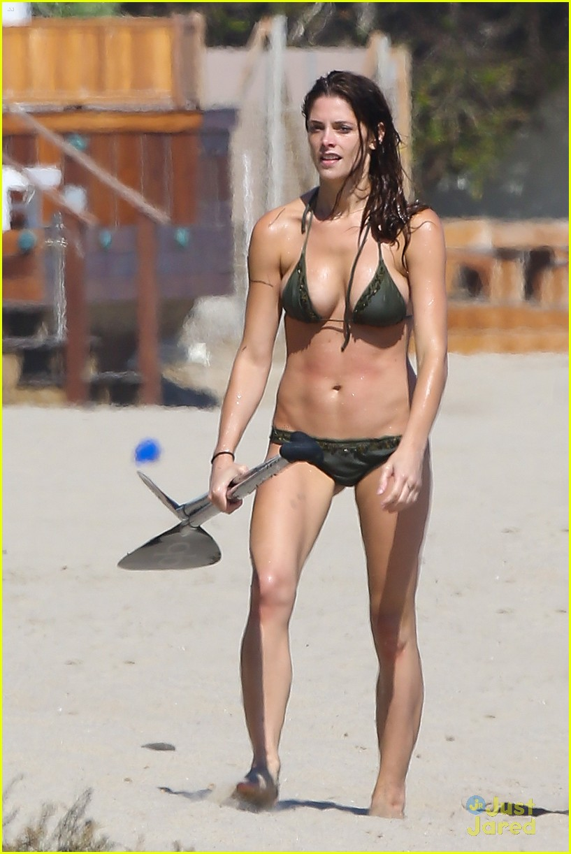 ashley greene beach bikini 01