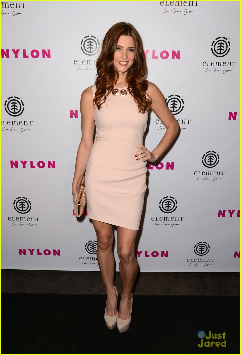 ashley greene nylon party 02