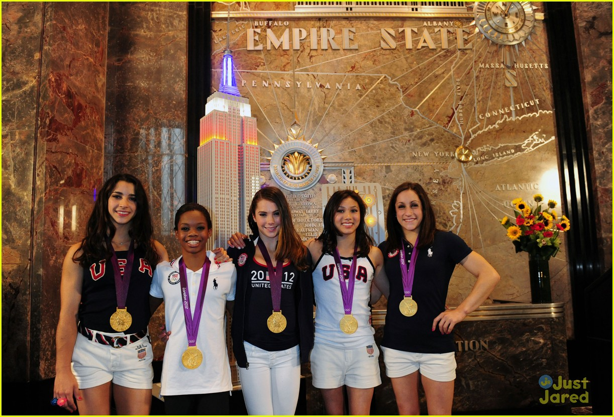 us gymnasts empire state 09