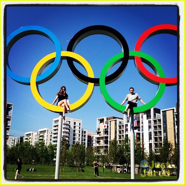gymnasts olympic village today show 05