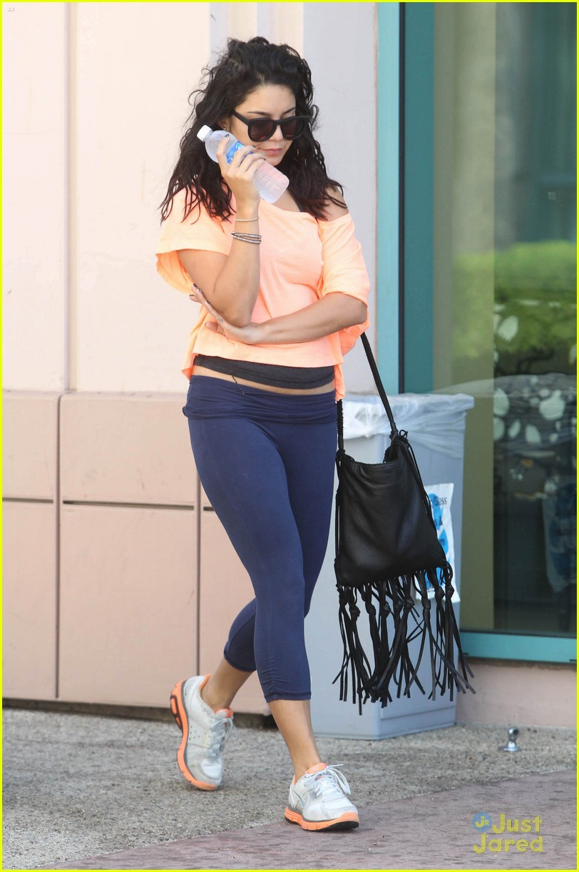 vanessa hudgens orange top 02