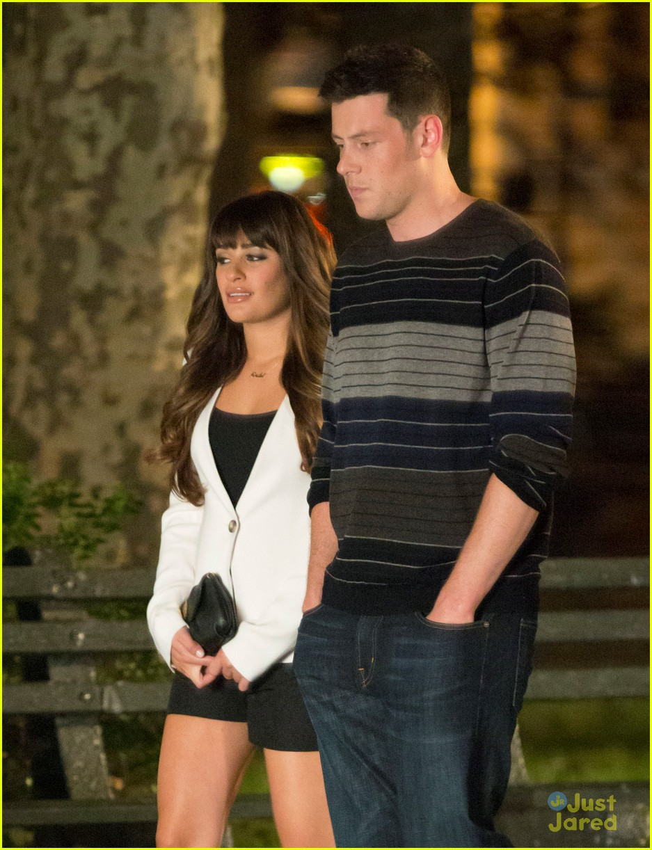 lea michele cory montieth glee nyc 10