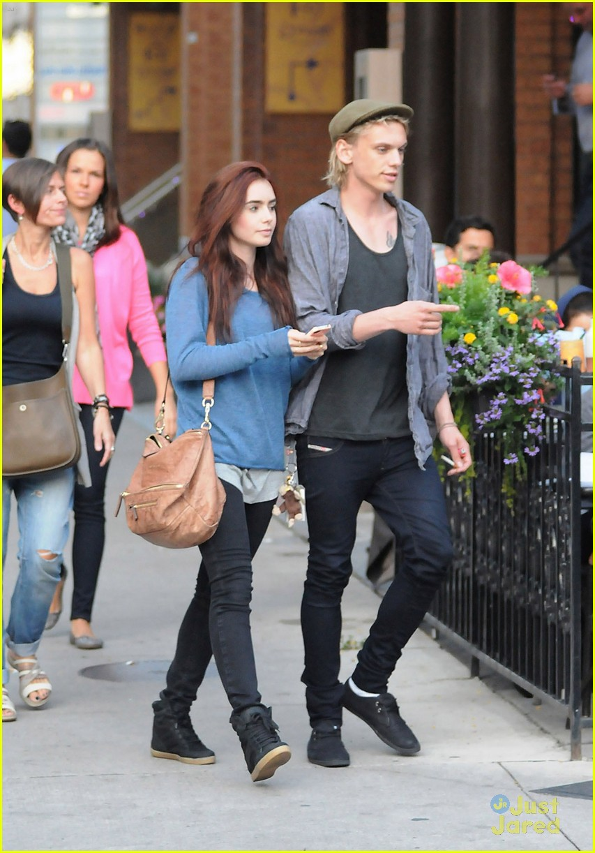 lily collins jamie bower froyo 01