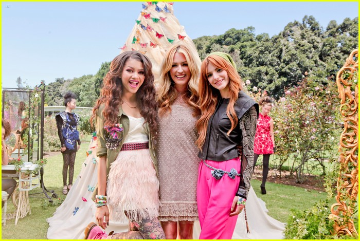 bella thorne zendaya fashion video pics 06