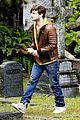 Daniel-cemetery daniel radcliffe horns cemetary 04