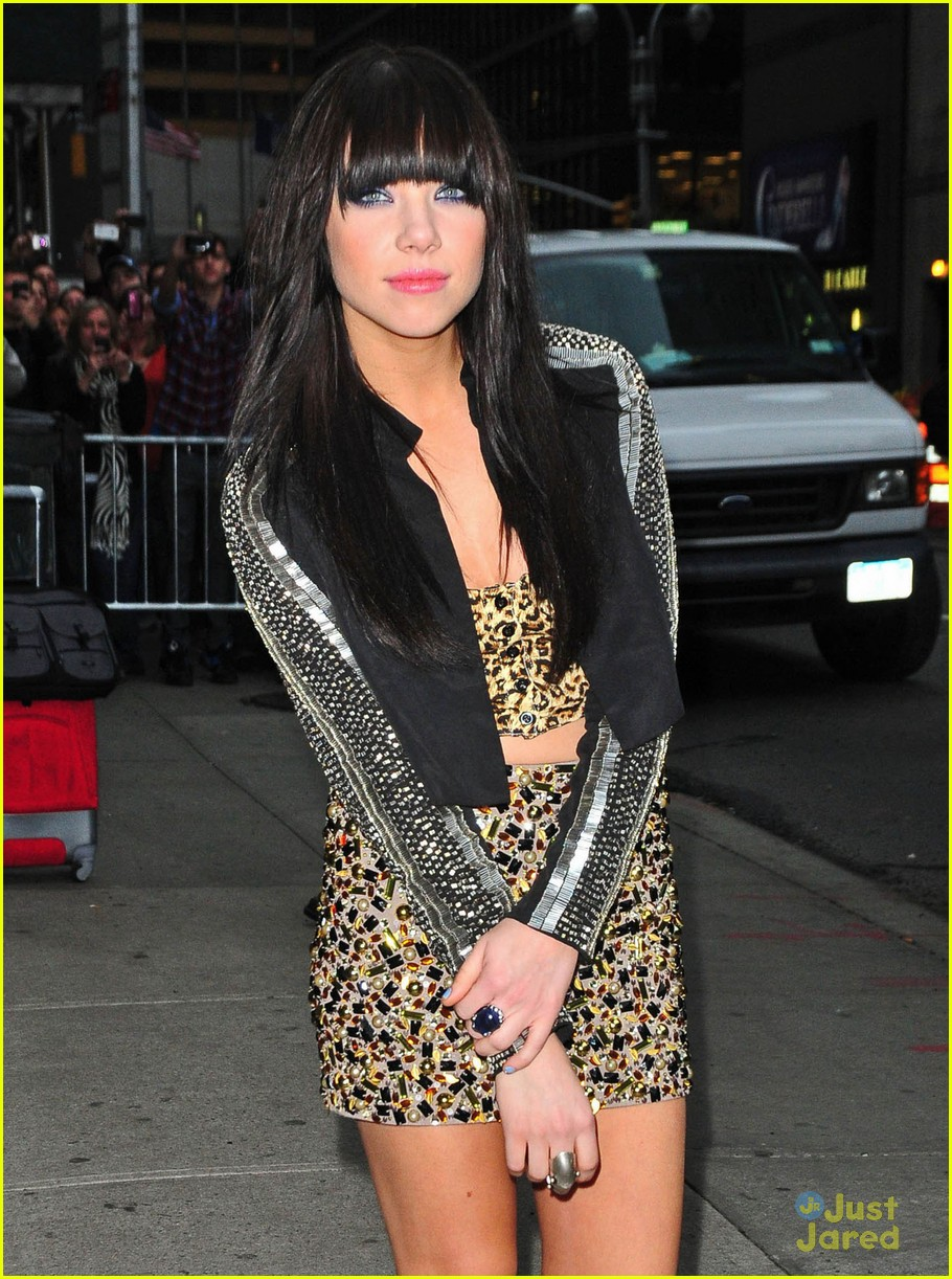 carly rae jepsen letterman 01