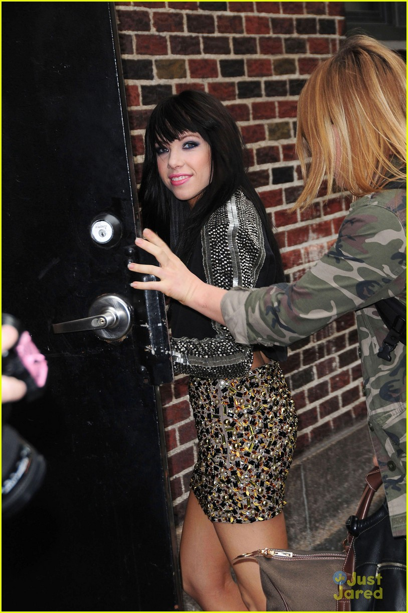 carly rae jepsen letterman 09