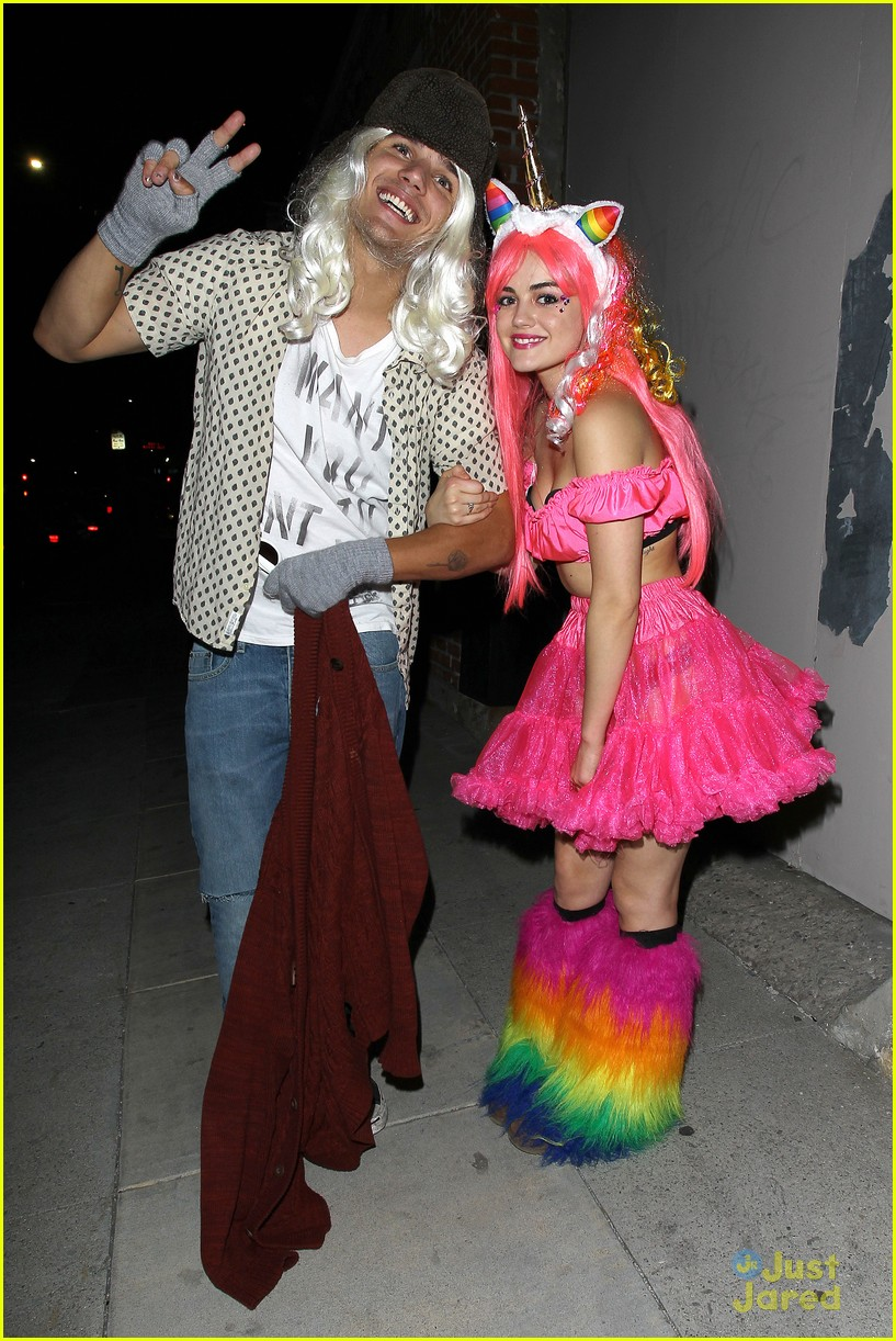 lucy hale jj halloween party 05