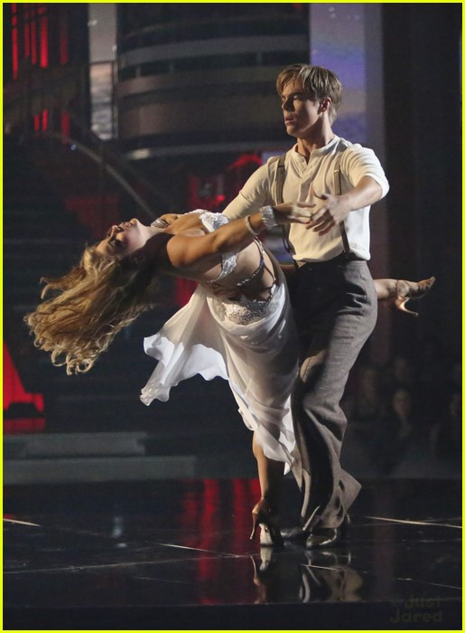 shawn johnson derek hough rumba dwts 06