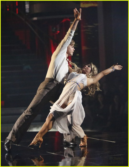 shawn johnson derek hough rumba dwts 10