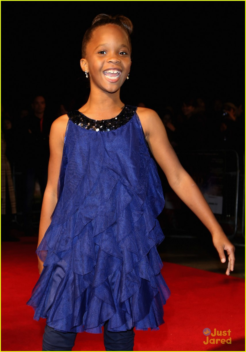 quvenzhane wallis beasts of the southern wild london premiere 10