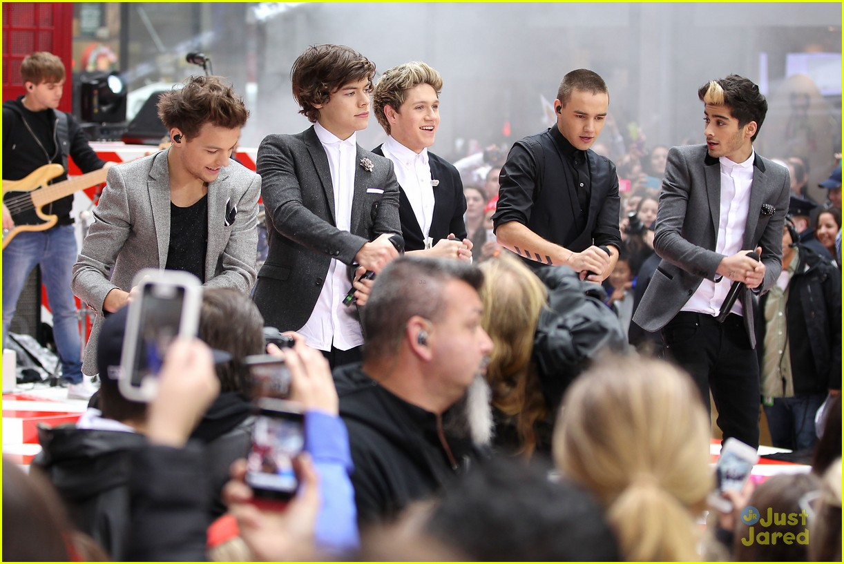 one direction today show 28