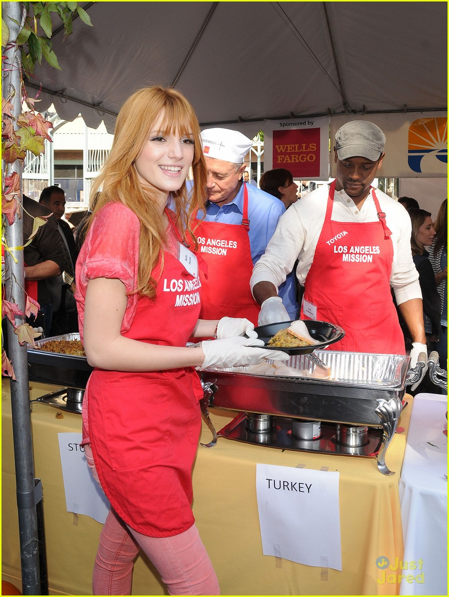bella thorne christian serratos la mission thanksgiving 13