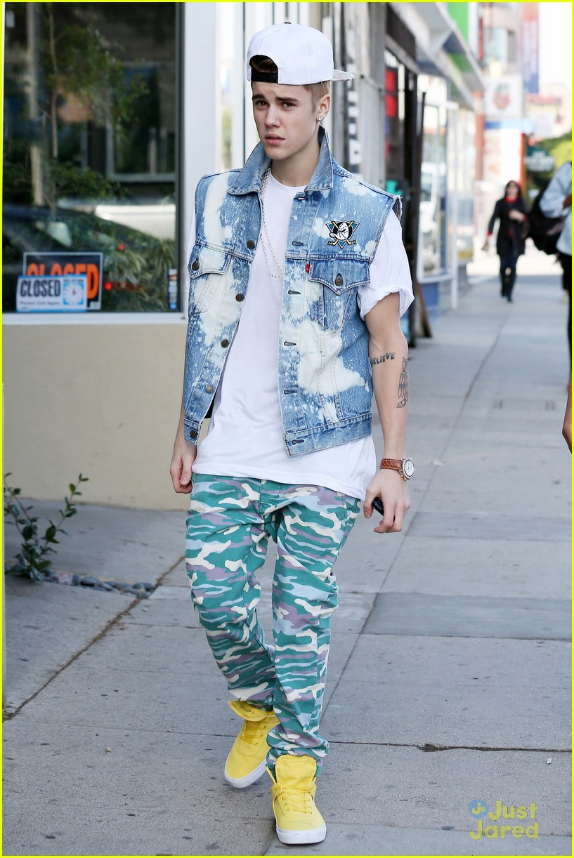 justin bieber camo pants 06