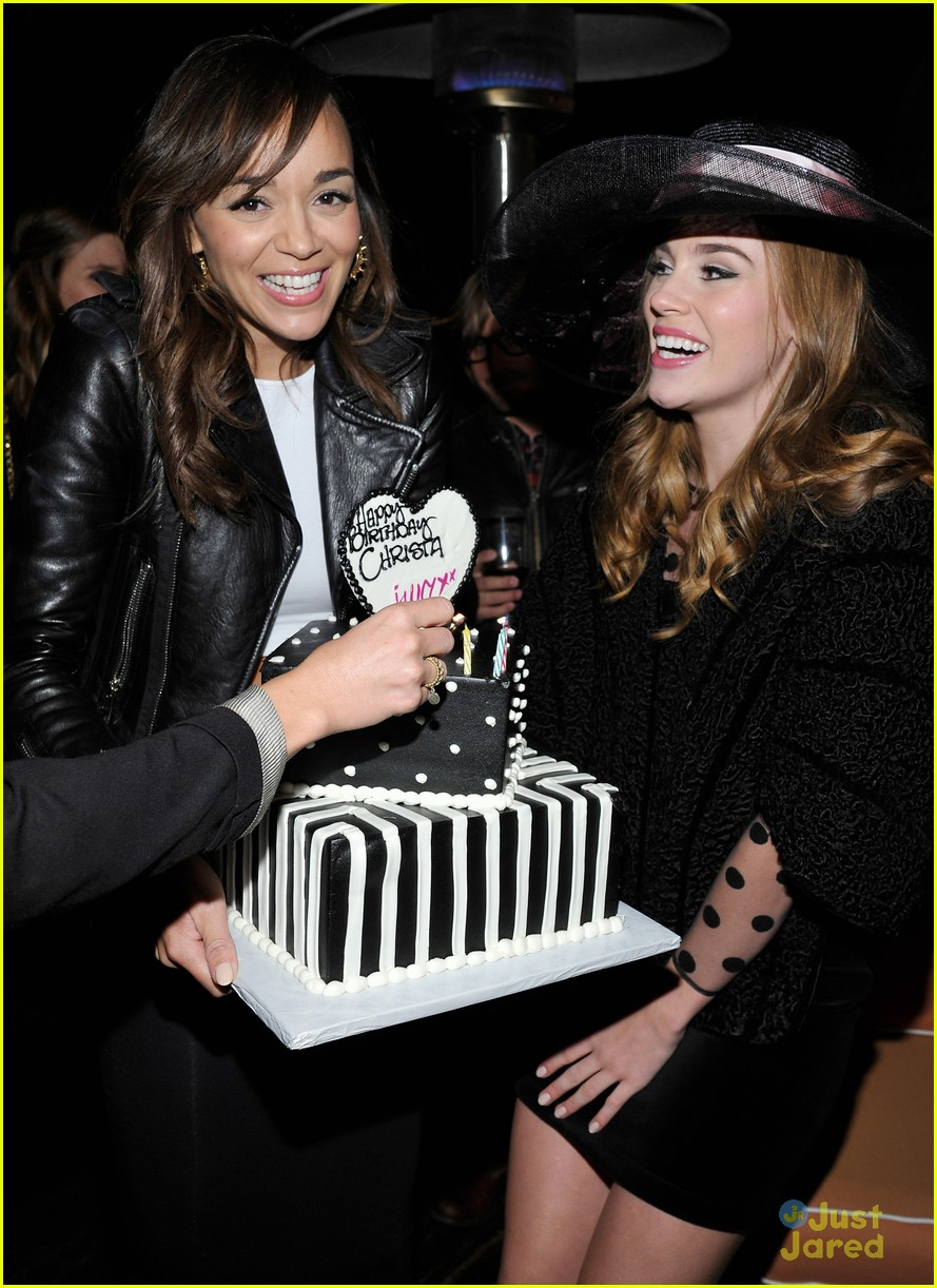 christa allen bday ashley madekwe 15