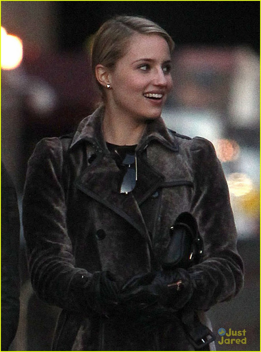 dianna agron christian cooke holding hands in nyc 01