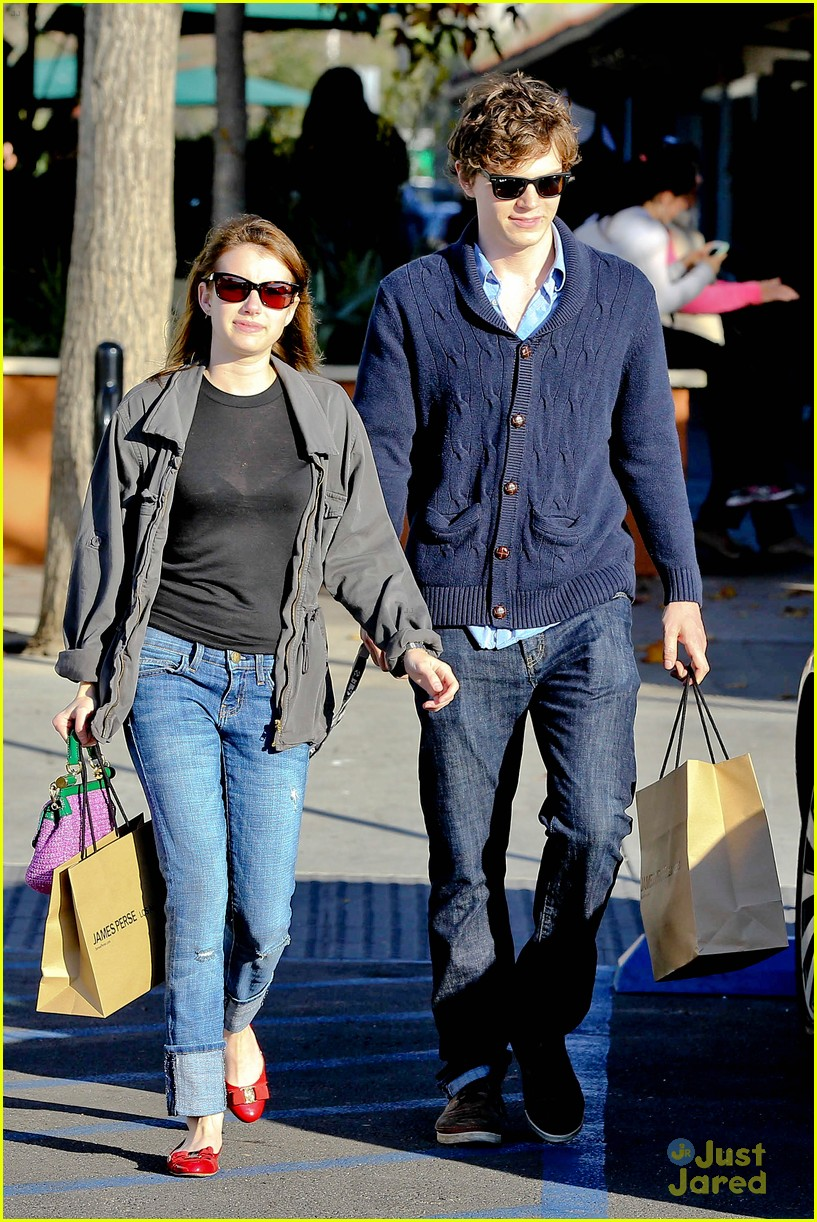 emma roberts evan peters black friday 08