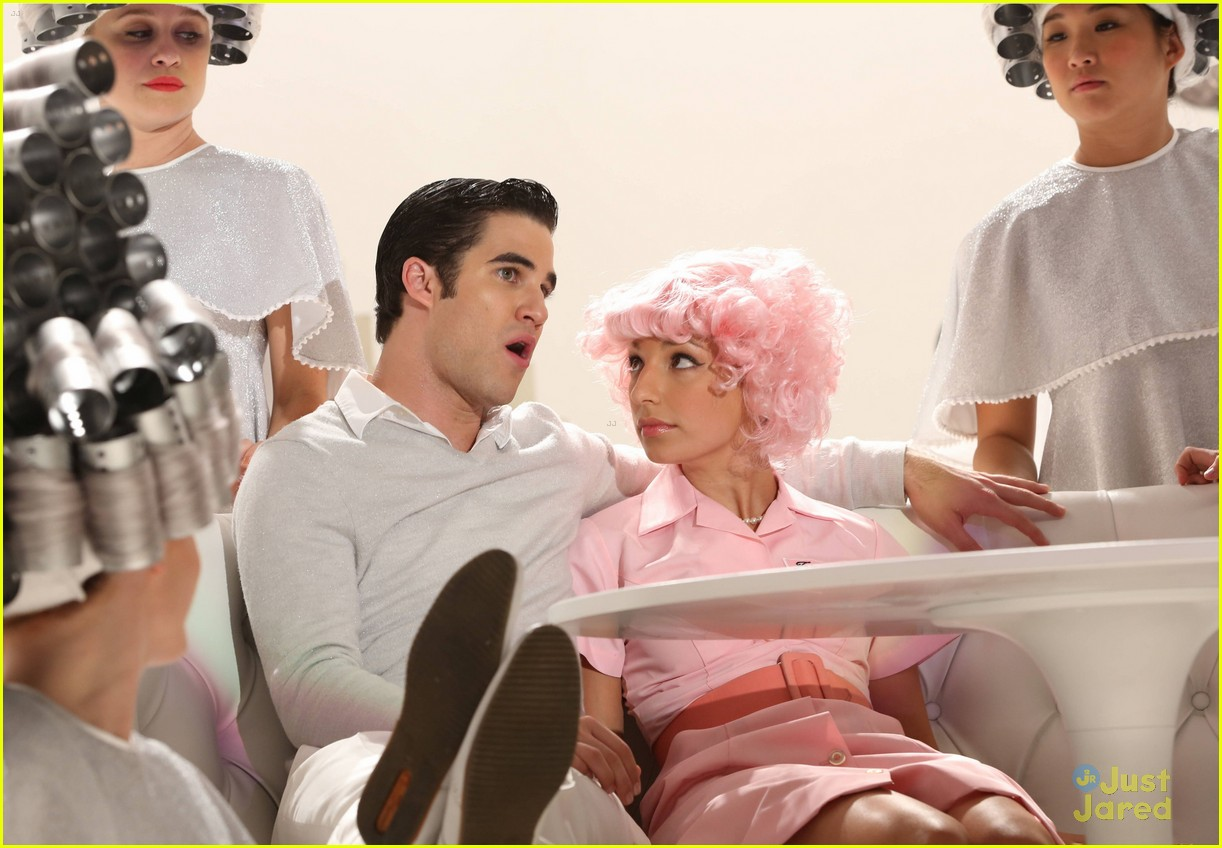 darren criss glease glee stills 05