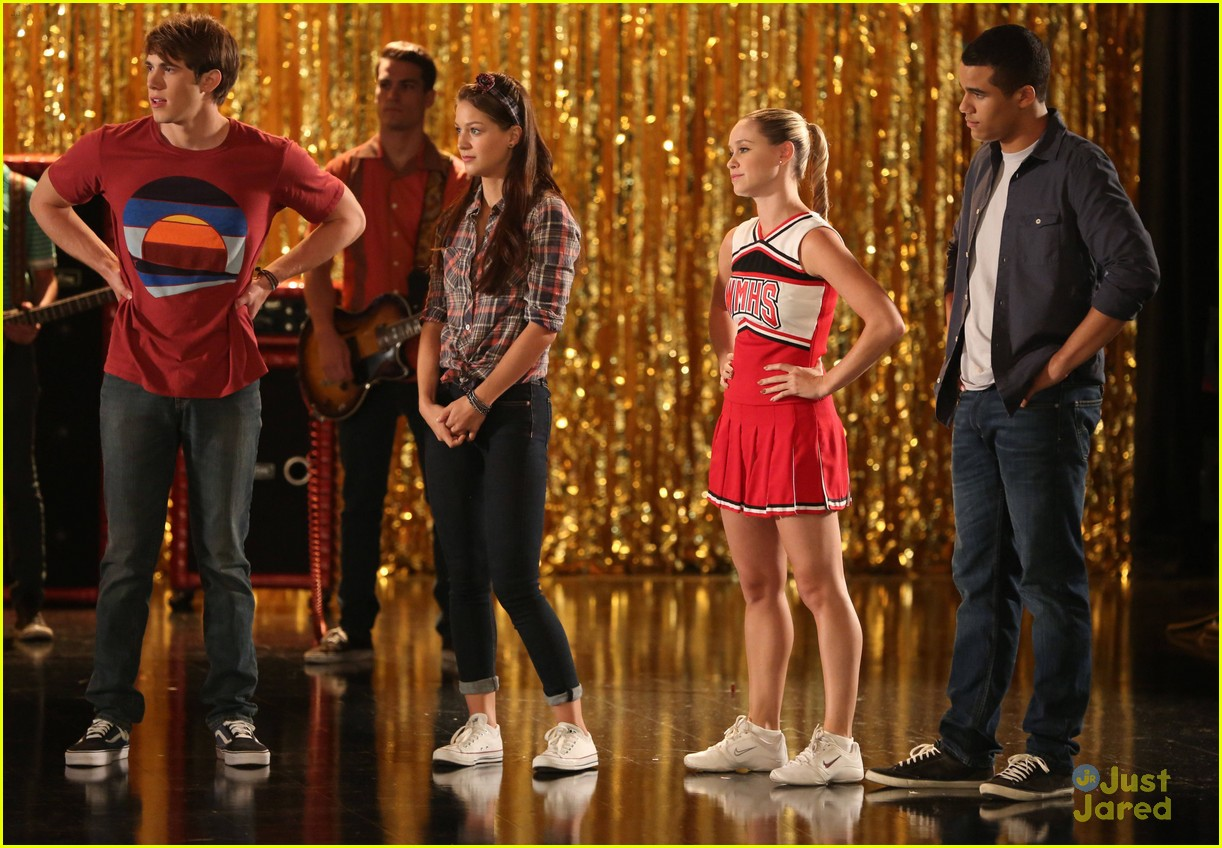 amber riley harry shum jive glee 04