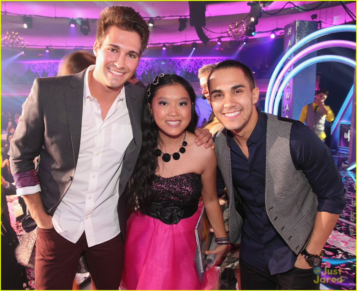 james maslow carlos pena halo awards 02
