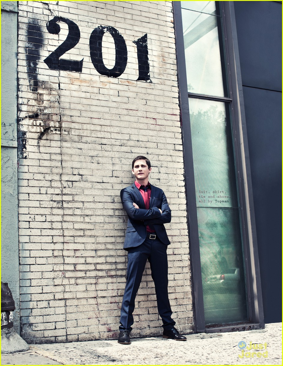 logan lerman visual tales 14