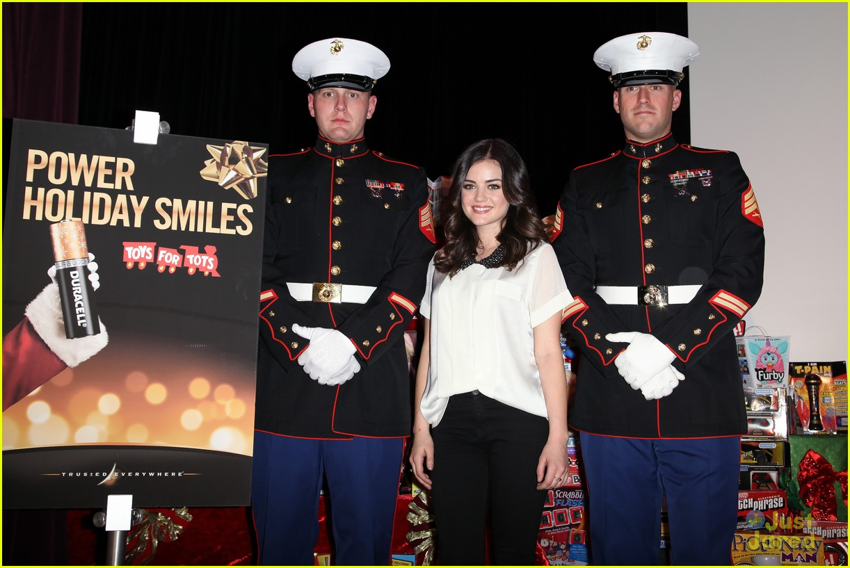 lucy hale duracell smiles campaign 10