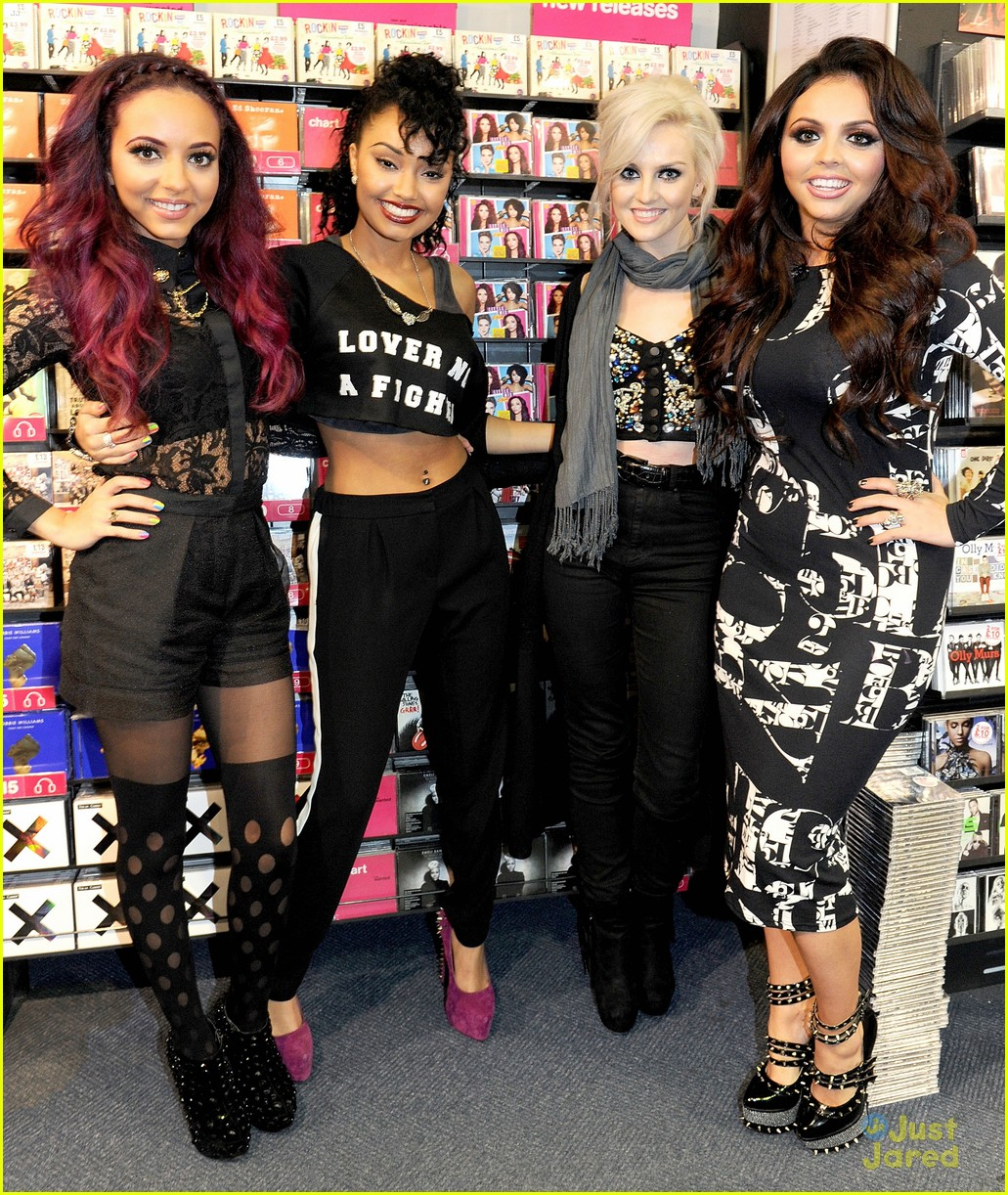 little mix dna signing hmv 01