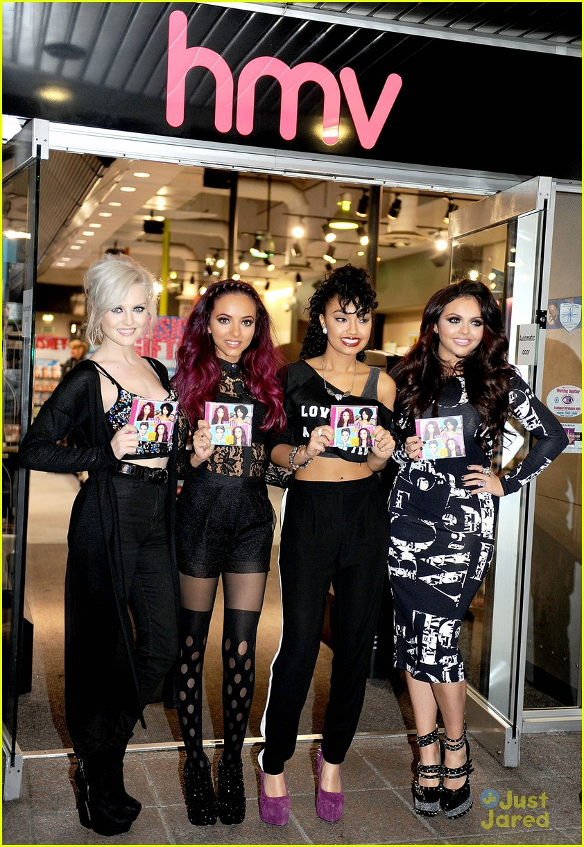 little mix dna signing hmv 03
