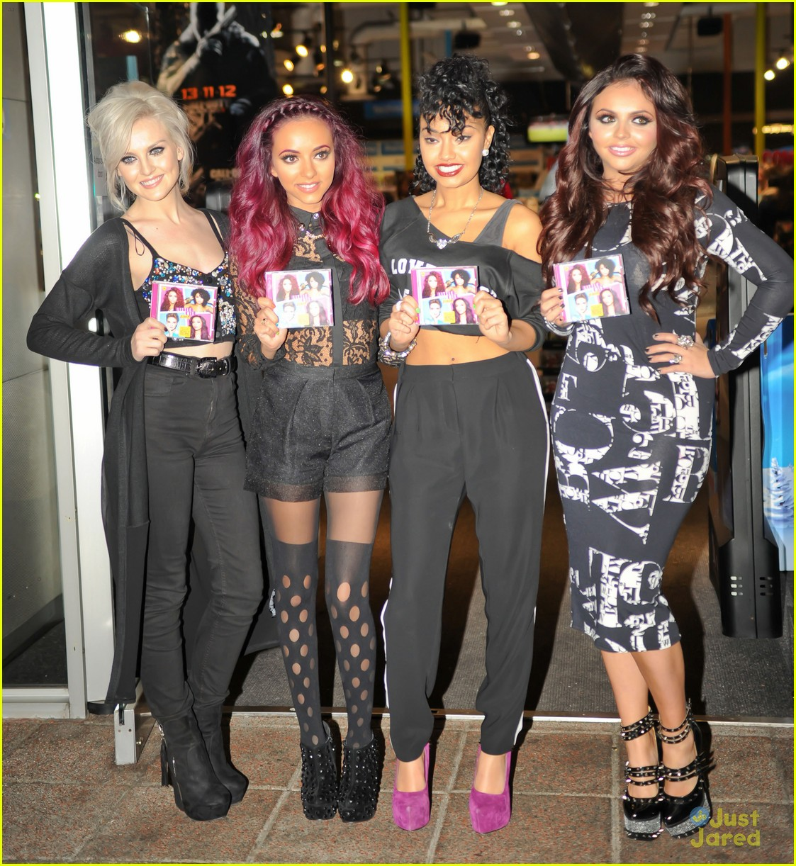 little mix dna signing hmv 09