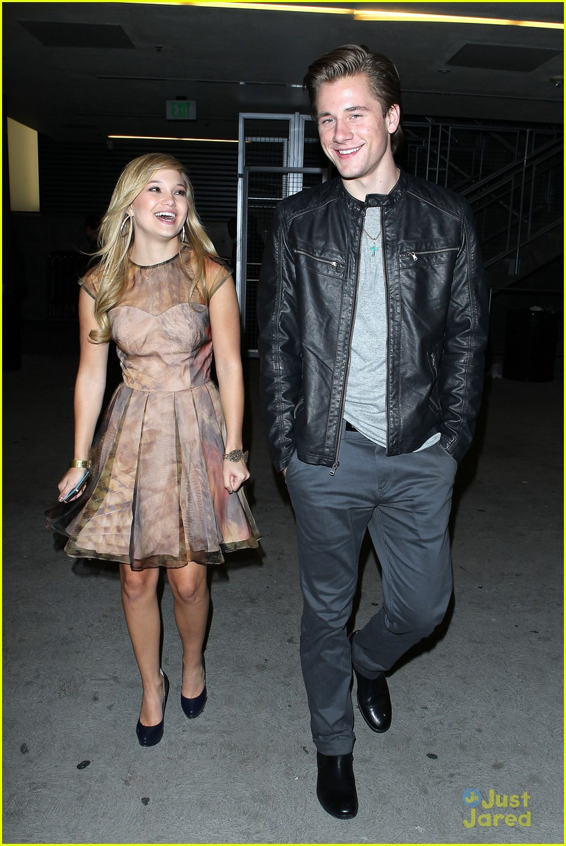 olivia holt luke benward bd after party 05