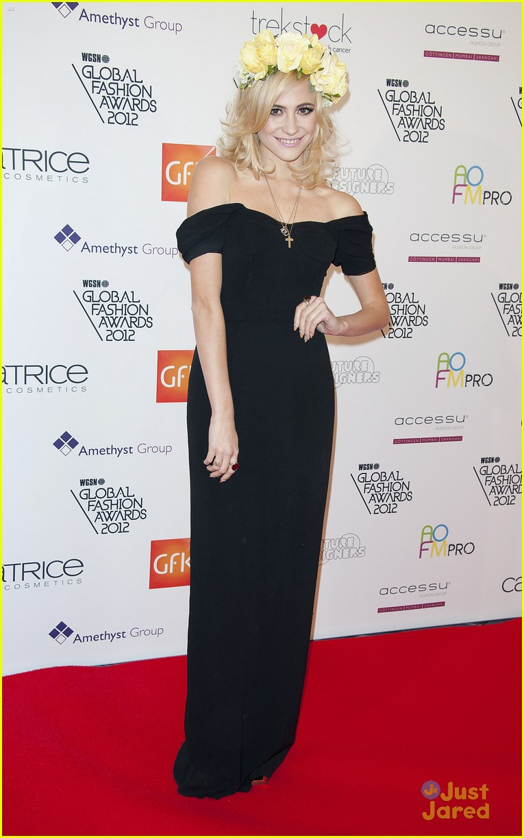 pixie lott global fashion awards 10