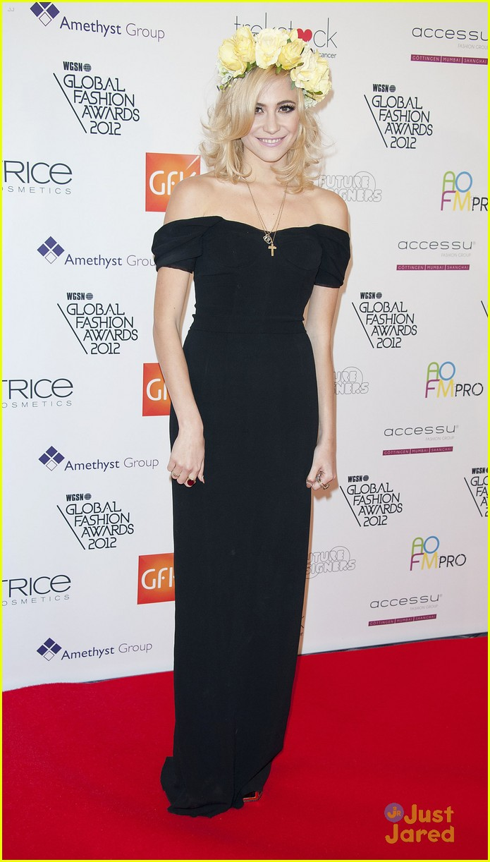 pixie lott global fashion awards 12