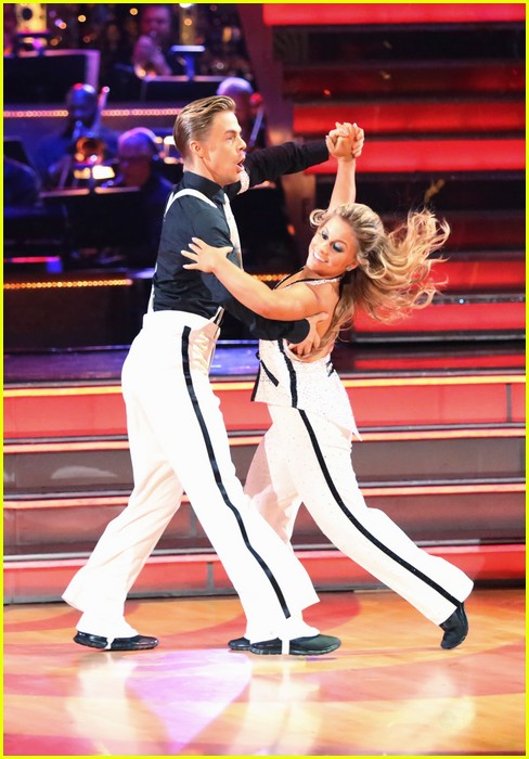shawn johnson derek hough freestyle 09