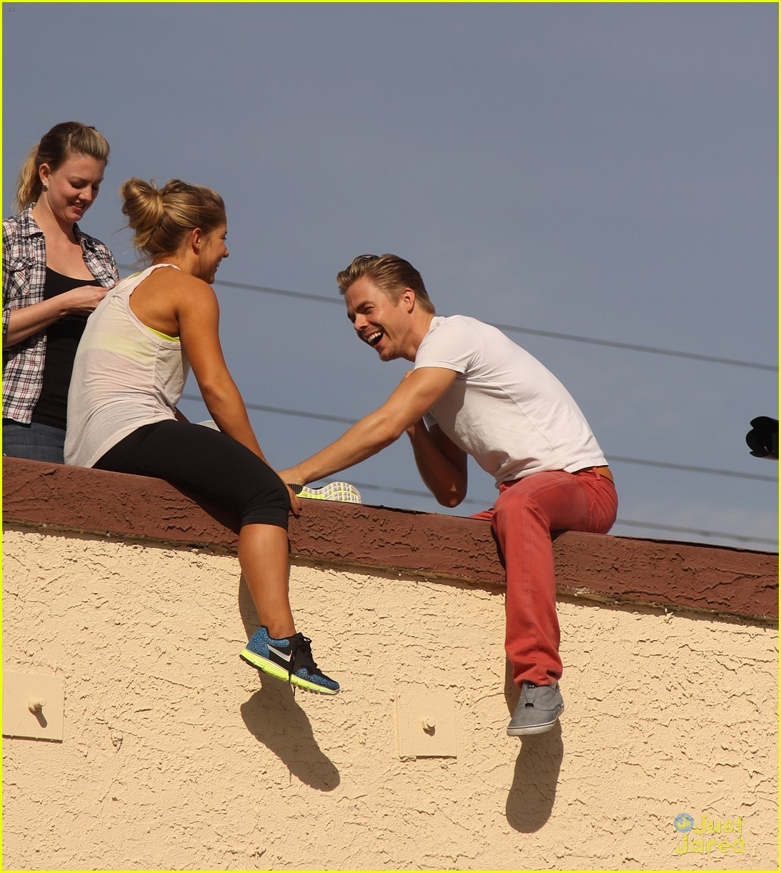 shawn johnson rooftop derek hough 10