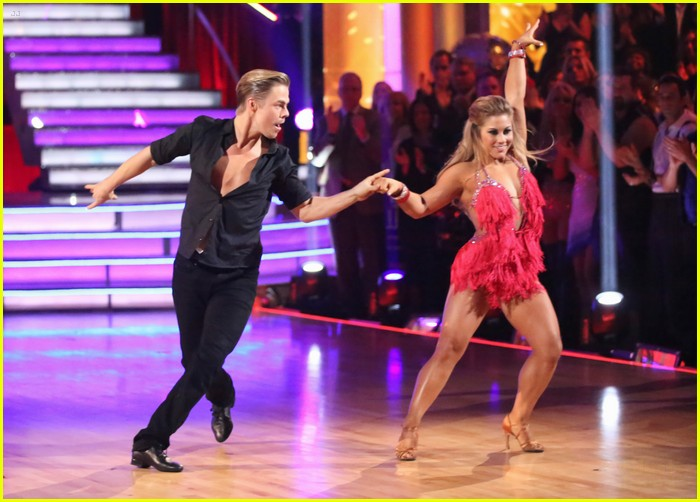 shawn johnson derek hough second dwts 07