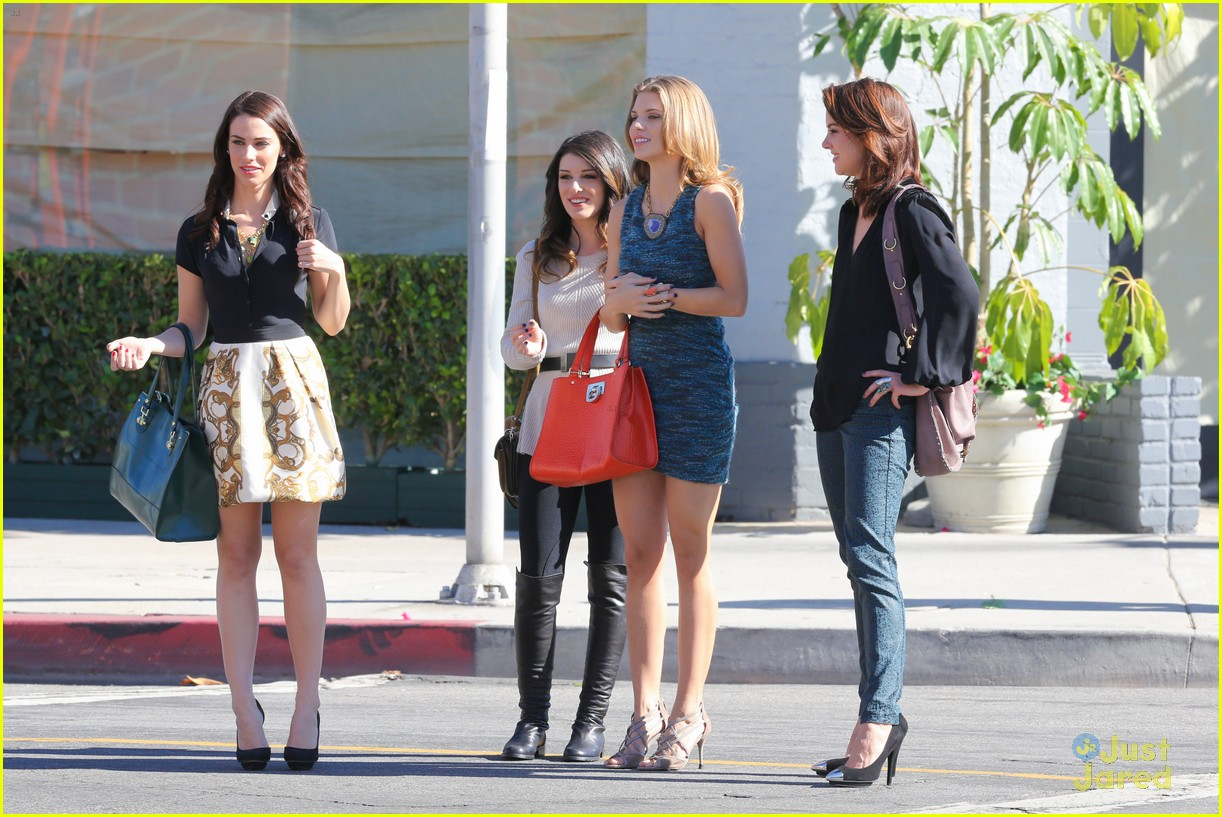 shenae jessica annalynne 90210 filming 16