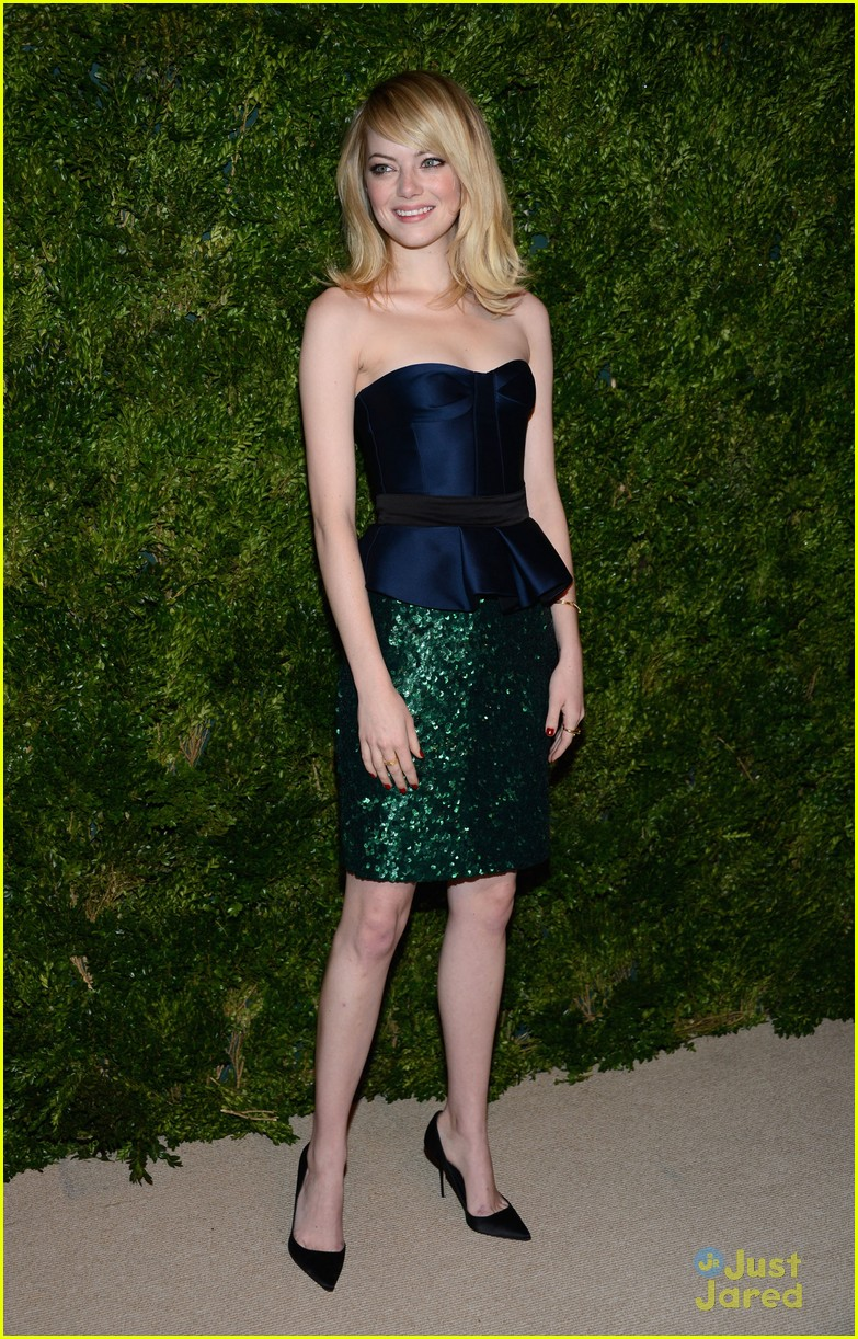 emma stone cfda fashion fund awards 20