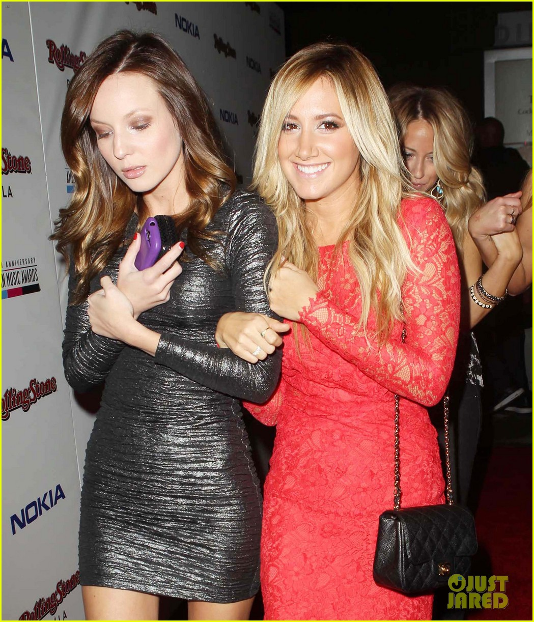 ashley tisdale rolling stone ama after party 05