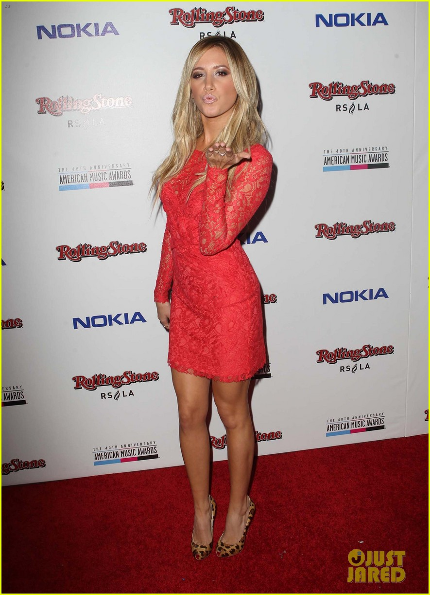 ashley tisdale rolling stone ama after party 07