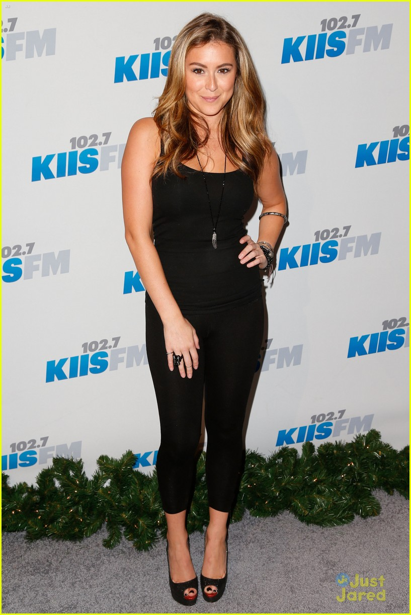 alexa vega jingle ball 13