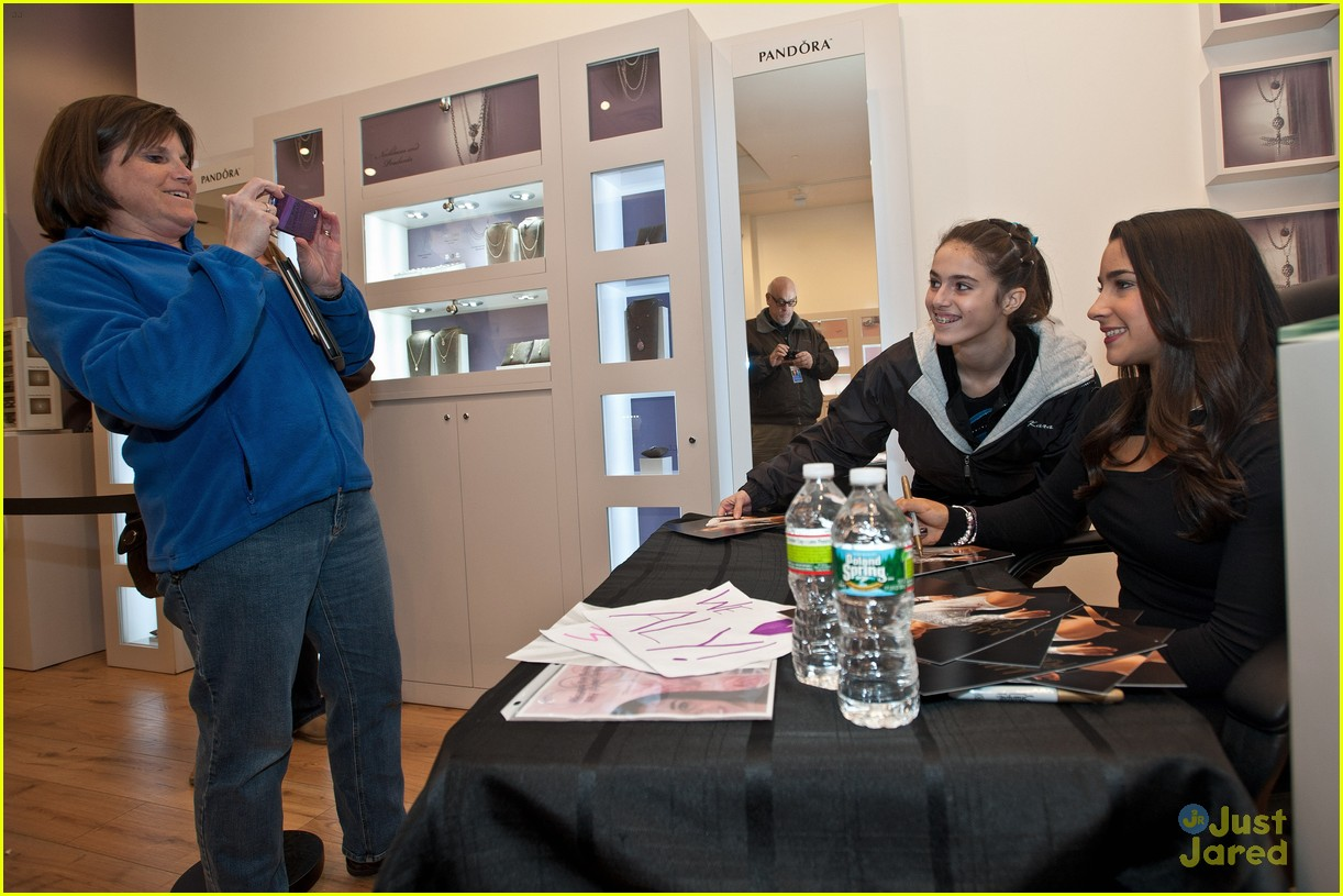 aly raisman pandora store stops 12