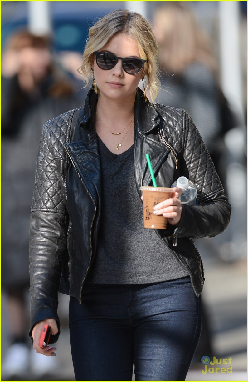 ashley benson starbucks nyc 05