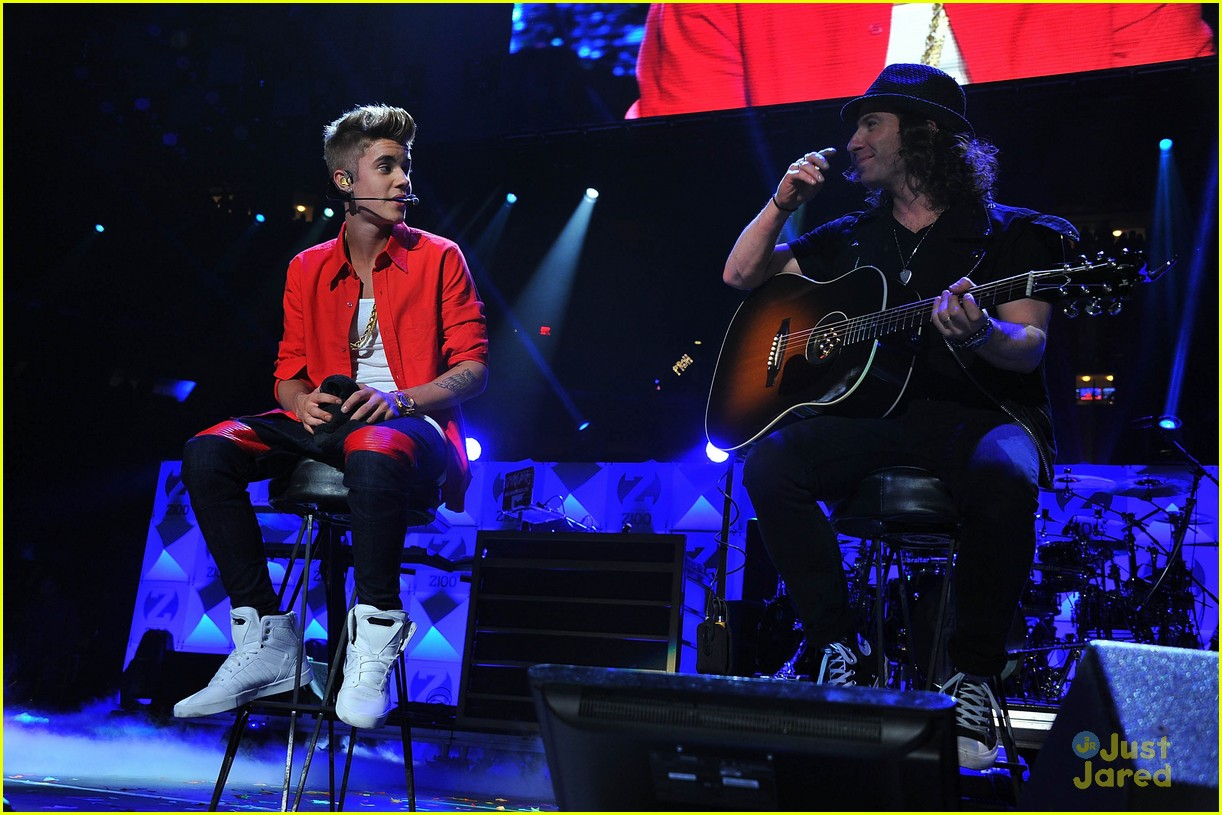 justin bieber z100 jingle ball 13