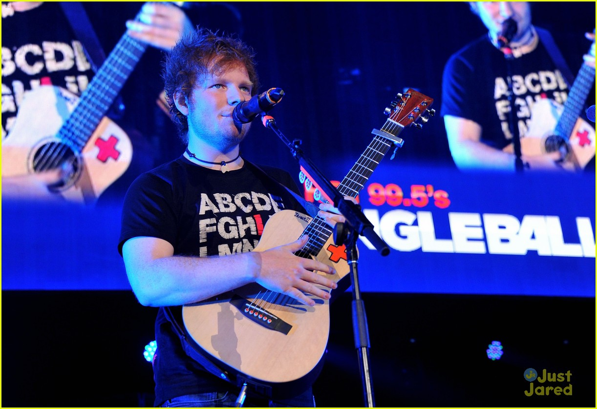 ed sheeran dc jingle ball 14