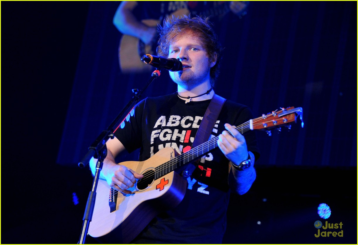 ed sheeran dc jingle ball 18