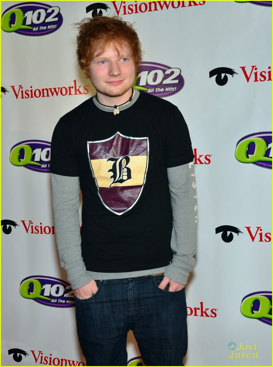 ed sheeran q102 jingle ball 09