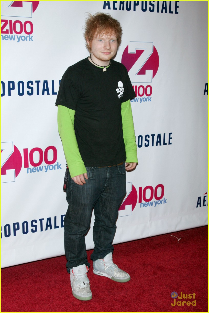 ed sheeran z100 jingle ball 03