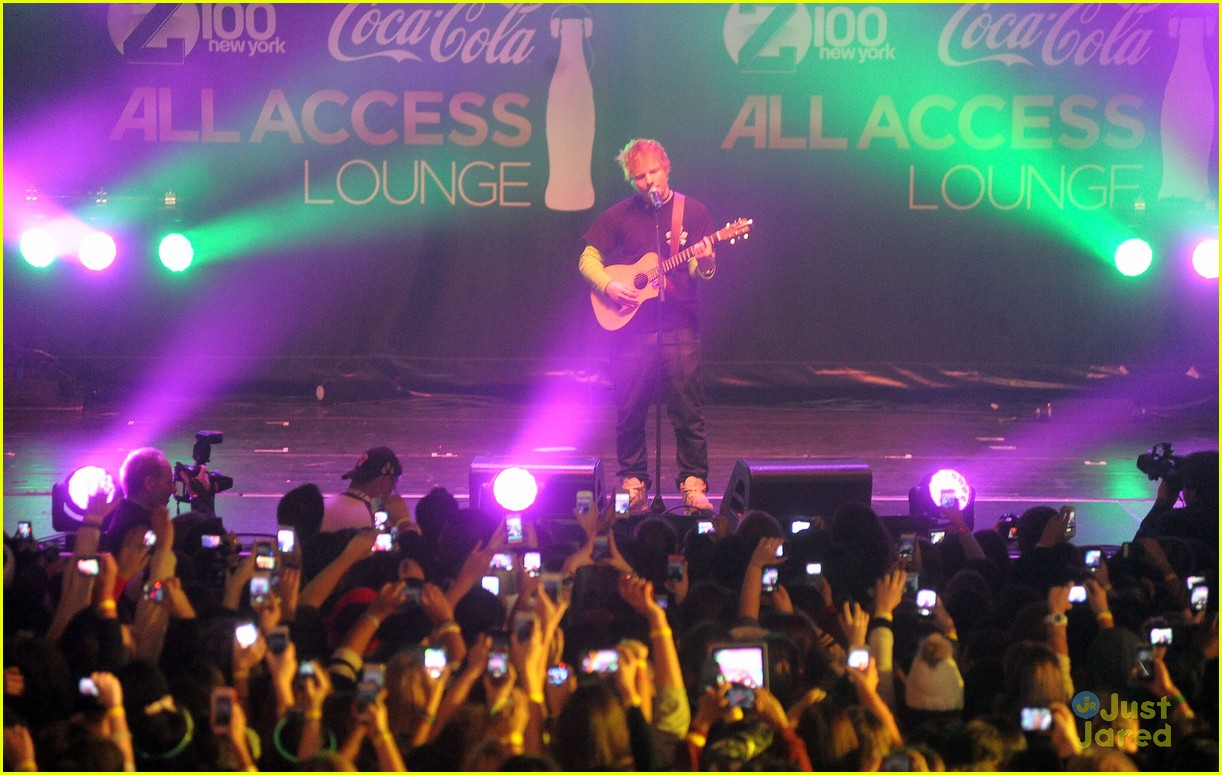 ed sheeran z100 jingle ball 08