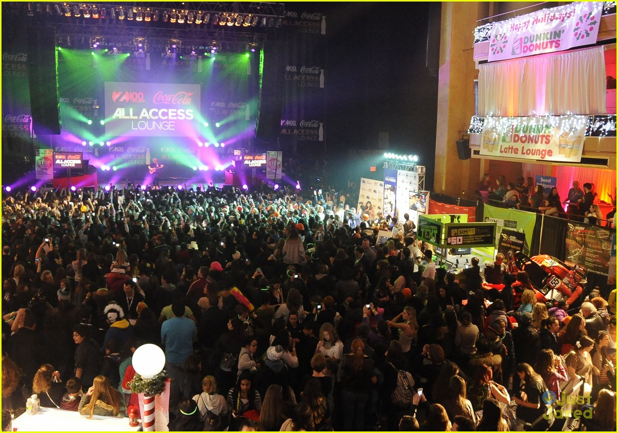 ed sheeran z100 jingle ball 11