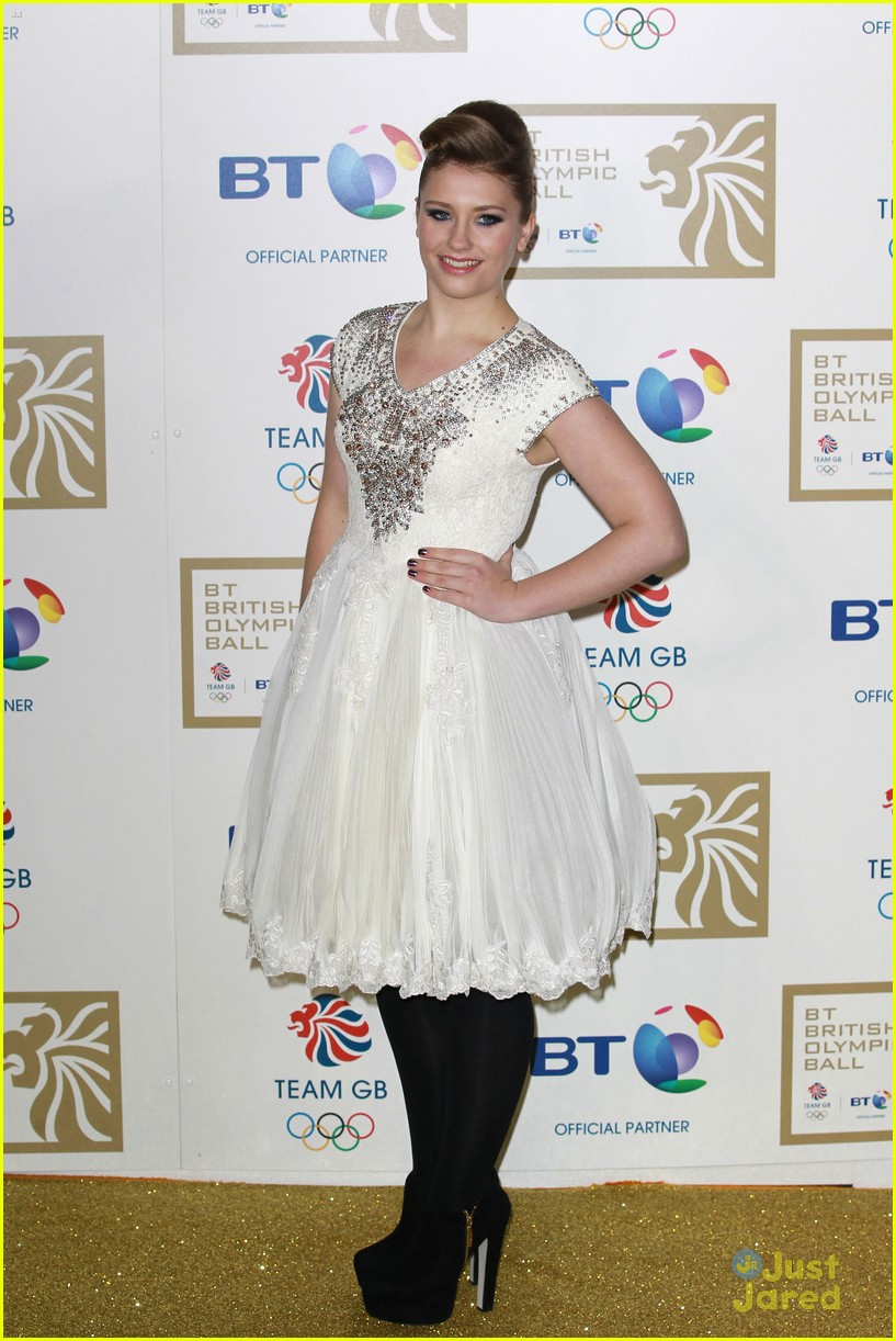 ella henderson british olympic ball 01